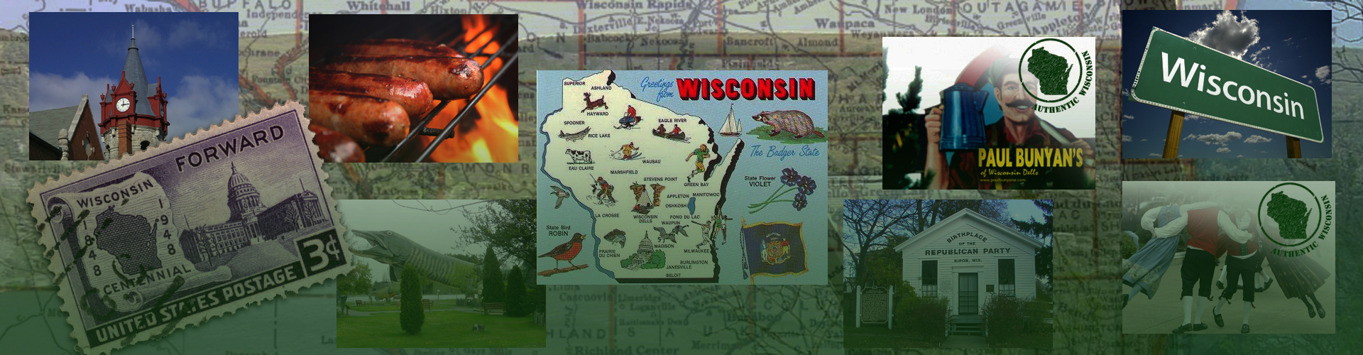 Notable Wisconsin Places.
