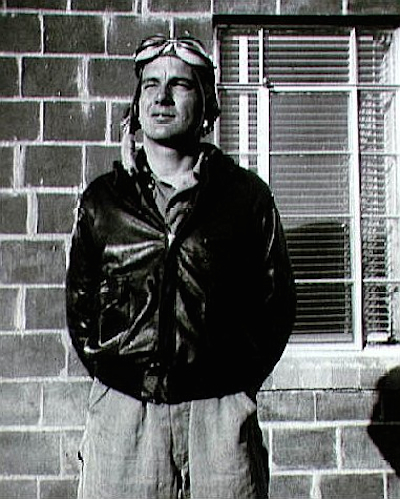 Deke Slayton as a bomber pilot in World War II.
